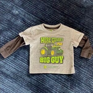 Boys John Deere shirt